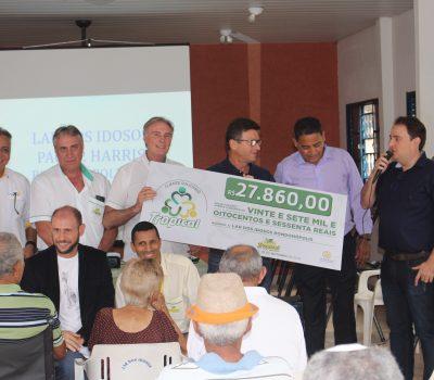Lar dos Idosos recebe doação Troco Solidário